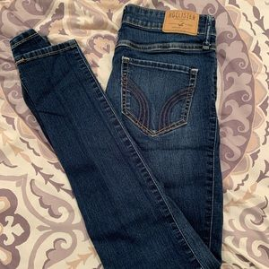 Hollister Super Skinny High Rise Jeans Size 1S